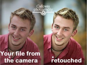 retouching galloway photography